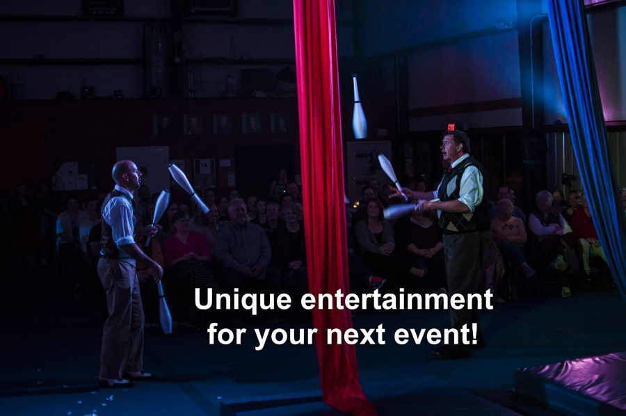 Unique entertainment for your next event!