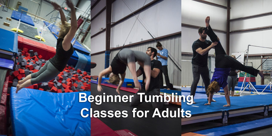 Beginner Tumbling Classes for Adults